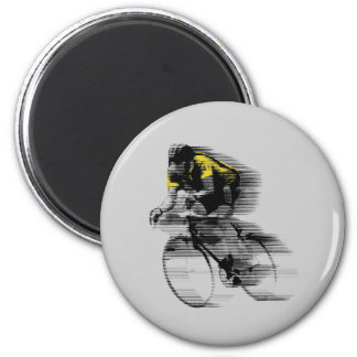 French Tour 6 Cm Round Magnet