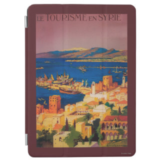 French Travel Poster, Touring in Syria iPad Air Cover