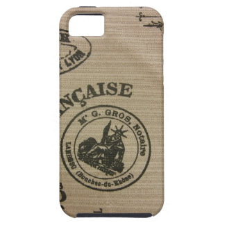 French Travel Stamps Case For The iPhone 5