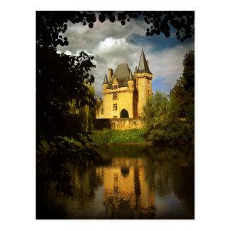 French Treasure (Chteau de Clrans, Prigord) Postcard