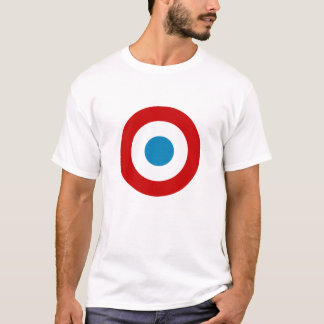 French Tricolour Roundel T-Shirt