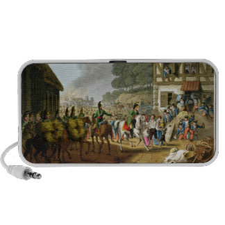 French Troops Retreating Through and Plundering a iPod Speakers