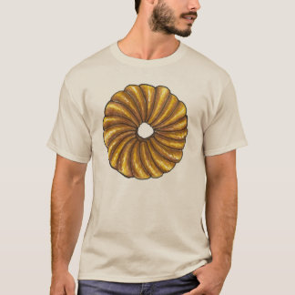 French Twist Donut Doughnut Pastry Tee Shirt