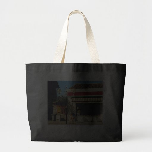 French Village Bakery Tote Bags