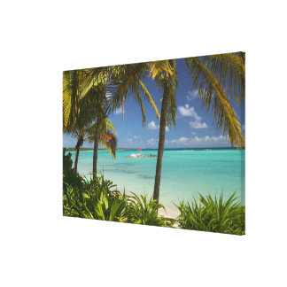 French West Indies, Guadaloupe, Grande Terre, 2 Canvas Print