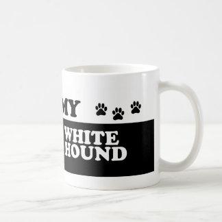 FRENCH WHITE AND BLCK HOUND_ COFFEE MUGS
