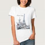 French White Christmas T Shirt