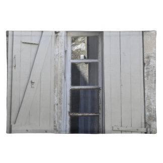 French window placemat