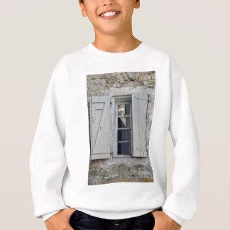 French window sweatshirt