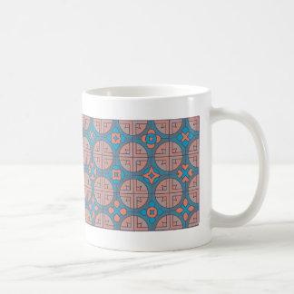 French zen-patterns coffee mug