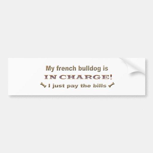 frenchbulldog bumper sticker