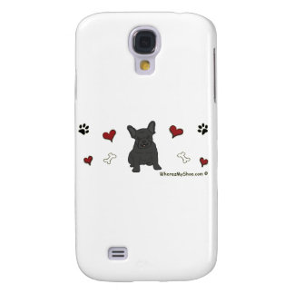 FrenchBulldogBlk Galaxy S4 Case