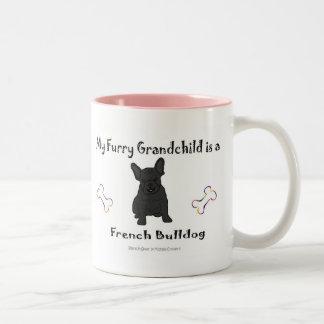 FrenchBulldogBlk Two-Tone Mug