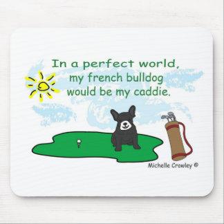 FrenchBulldogBlkWt Mousepad
