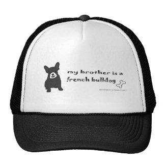 FrenchBulldogBlkWtBrother Trucker Hats