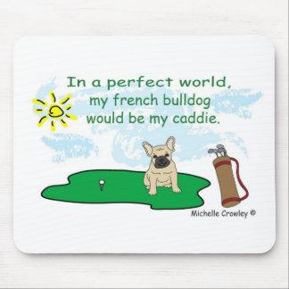 FrenchBulldogFawn Mouse Pads