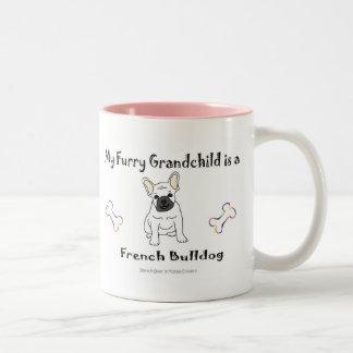 FrenchBulldogWt Two-Tone Coffee Mug
