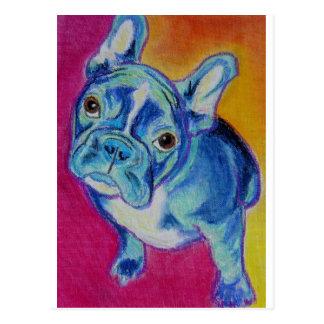 Frenchie #1 postcard