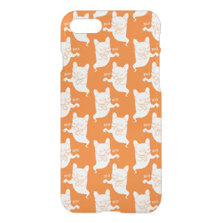 Frenchie Boo Boo Halloween Ghost iPhone 7 Case