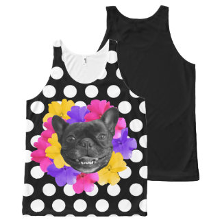 Frenchie Dots Tank Top