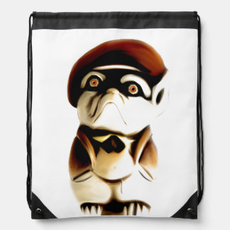 Frenchie (French Bulldog) Drawstring Backpack