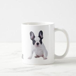Frenchie - French bulldog puppy Basic White Mug