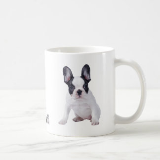 Frenchie - French bulldog puppy Basic White Mug