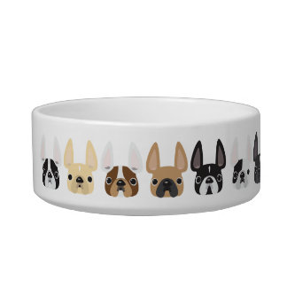 Frenchie & Friends Pet Bowl