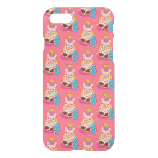 Frenchie is The King of Doughnuts iPhone 7 Case
