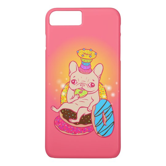 Frenchie is The King of Doughnuts iPhone 8 Plus/7 Plus Case