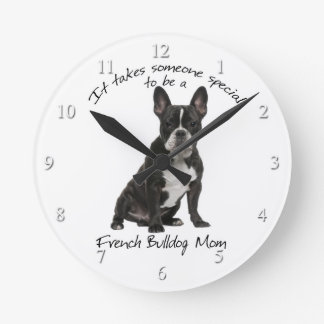 Frenchie Mom Clock