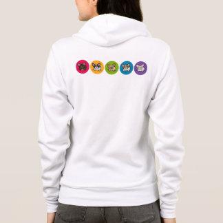 Frenchie Rainbow Hoodie
