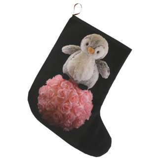 Frenchie the Penguin Stocking