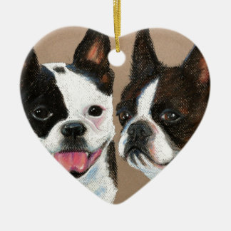 Frenchies Christmas Ornament