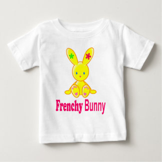Frenchy Bunny - for baby Tshirts