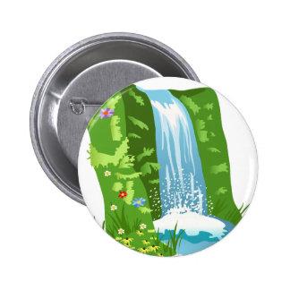 frend family shower 6 cm round badge