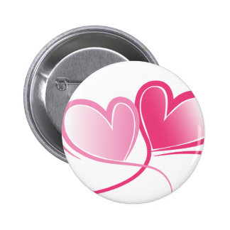 frend family shower 6 cm round badge