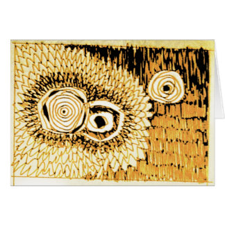 FREQUENCY 37 GREETING CARD