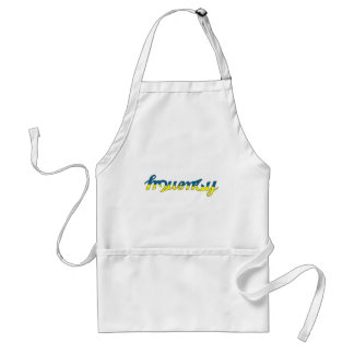 Frequency Blue/Yellow Standard Apron
