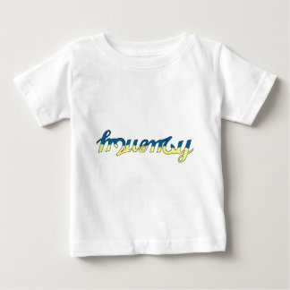 Frequency Blue/Yellow Baby T-Shirt