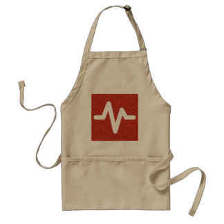 Frequency Highs Pictograph Standard Apron