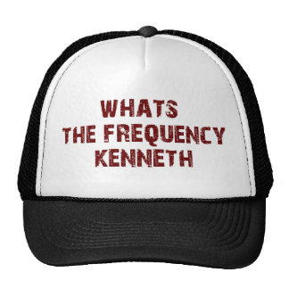 FREQUENCY KENNETH hat