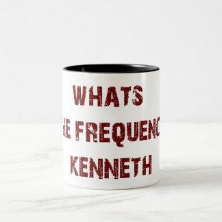 FREQUENCY KENNETH mug