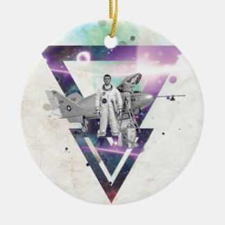Frequent Flyer Christmas Ornament