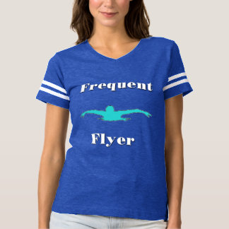 Frequent Flyer Swim Ladies T-Shirt