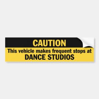 Frequent Stops (Dance) Bumper Sticker