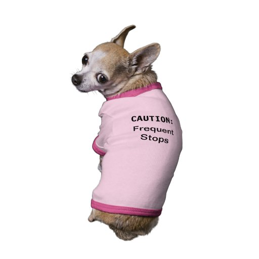 Frequent Stops Pet Tshirt