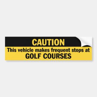 Frequent Stops (Golf) Bumper Sticker