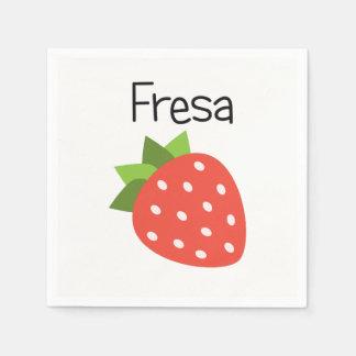 Fresa (Strawberry) Disposable Napkin