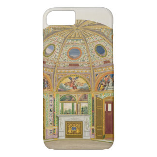 Fresco decoration in the Summer House of Buckingha iPhone 8/7 Case